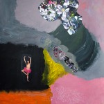 Tony Oursler - Open Flower - 2012