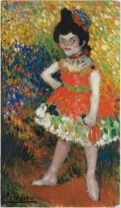 Pablo Picasso, La nana, 1901 - Museu Picasso, Barcellona