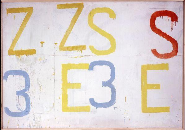 Jannis Kounellis, Senza titolo, 1961. © 2017 The Estate of Jannis Kounellis, Artists Rights Society (ARS), New York - SIAE, Rome. Courtesy Kunstmuseum Basel and Sammlung Goetz, München. Photo Barbara Deller-Leppert, Münch