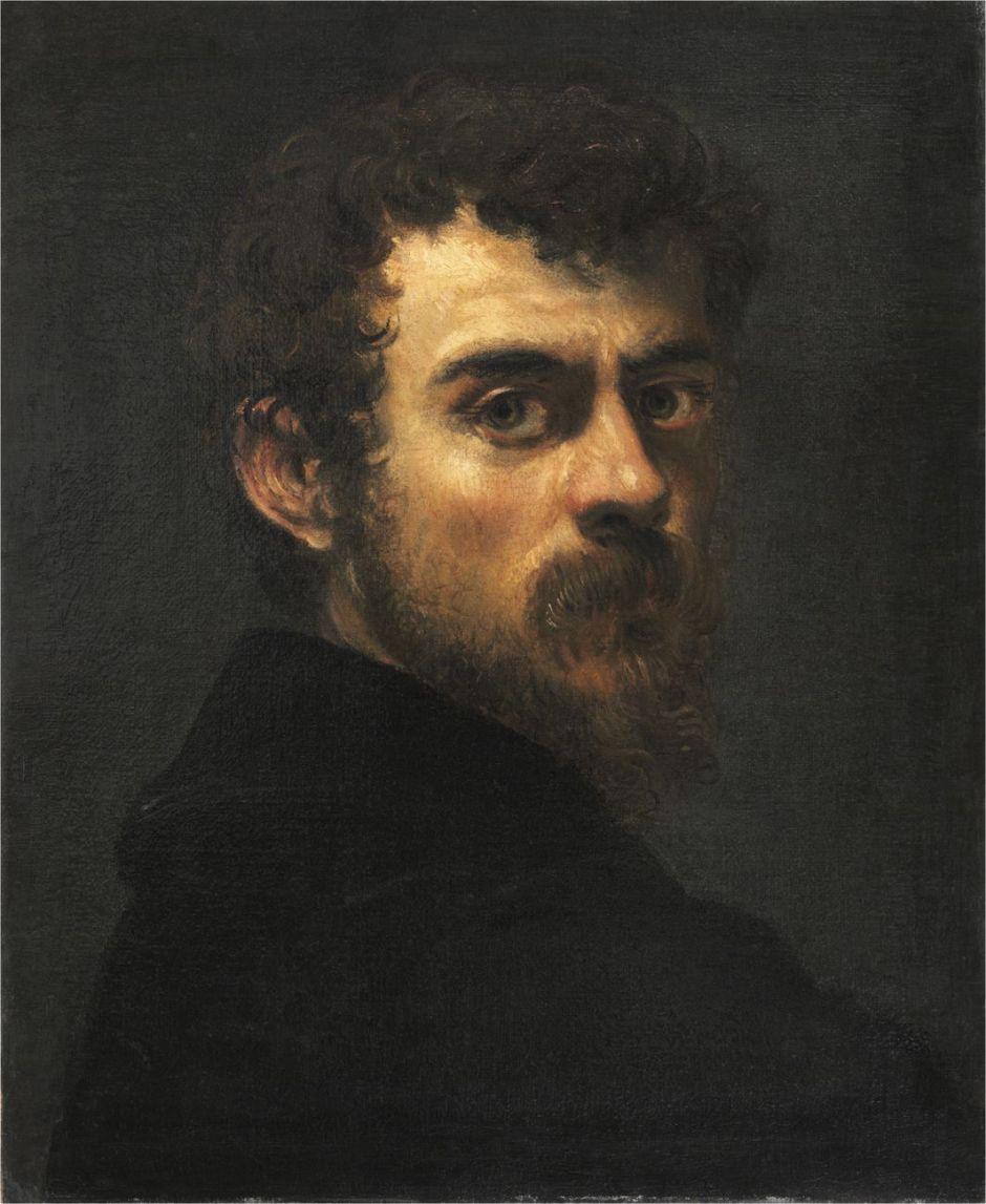 Autorretrato de Tintoretto, Museu do Louvre