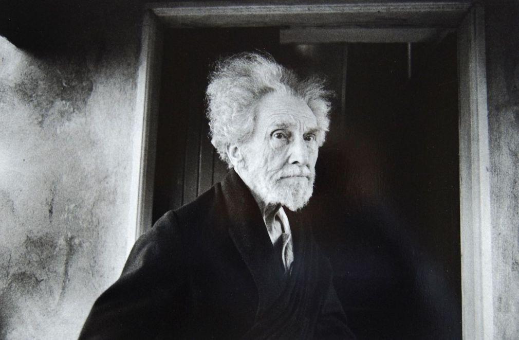 Lisetta Carmi, Ezra Pound, 1966, cm 30x40 © Lisetta Carmi Martini Ronchetti
