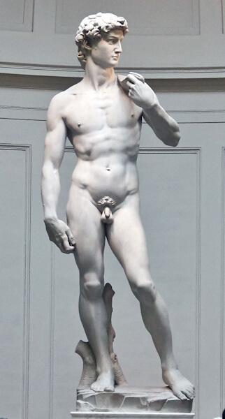 Микеланджело скульптура Давид