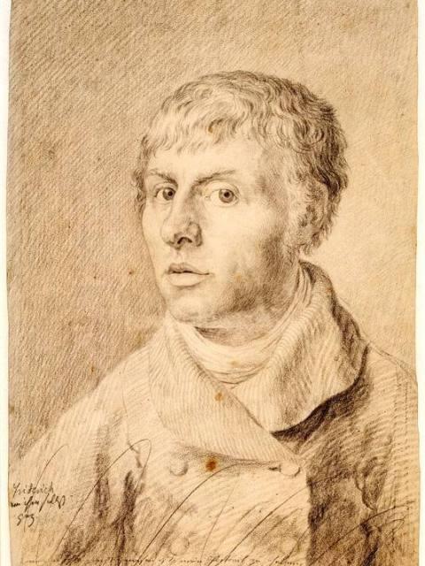 Каспар Фридрих автопортрет