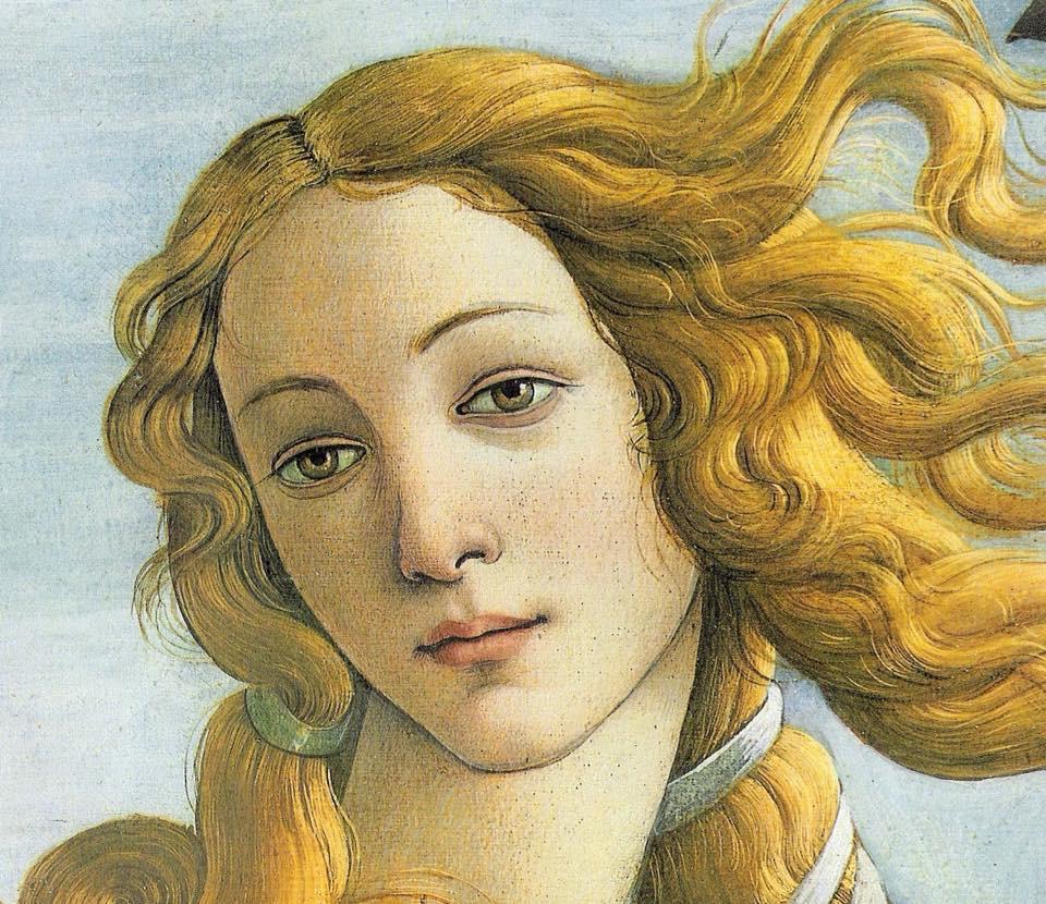 Боттичелли Венера фрагмент