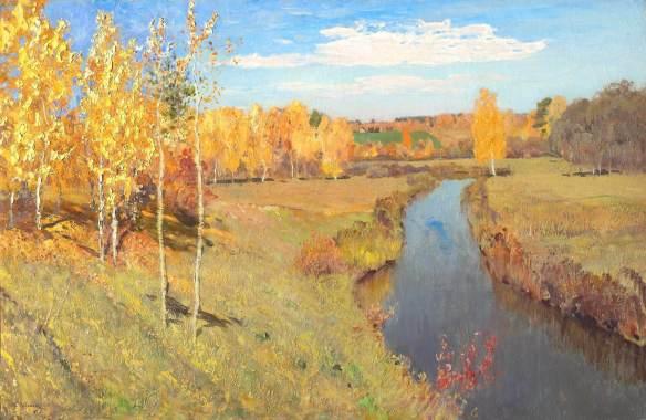 Левитан. Золотая осень