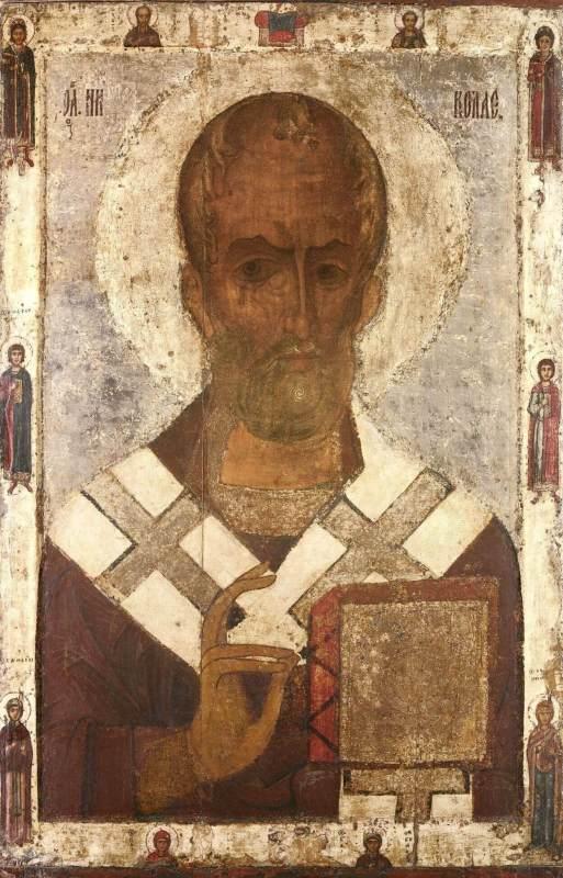 Икона «Николай Чудотворец», 13 век