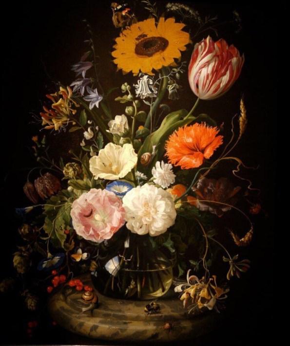Ян де Хем. Цветы