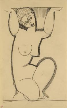 Jewish Museum Modigliani nudes portraits sculptures