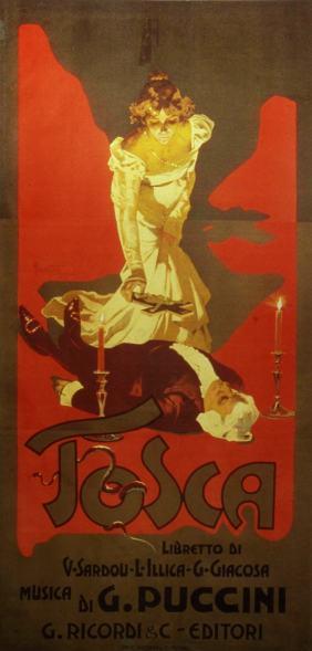 Puccini Tosca Metropolitan Opera NYC 2018