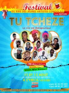 Tu Tcheze, le festival du rire des jeunes artistes congolais