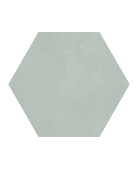carrelage hexagonal en gres cerame emaille decore vert restaurant 23x26cm apesunny palladium