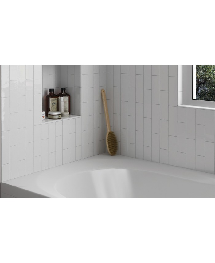 pieces speciales pour carrelage rectangulaire contemporain blanc mat equipcountry