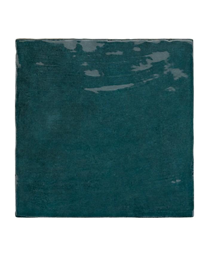 carrelage imitation zellige bleu