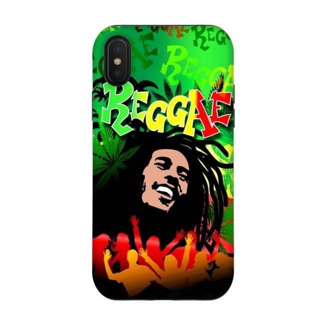 Funda personalizada Bob Marley. Fundas personalizadas inspiradas en la música.