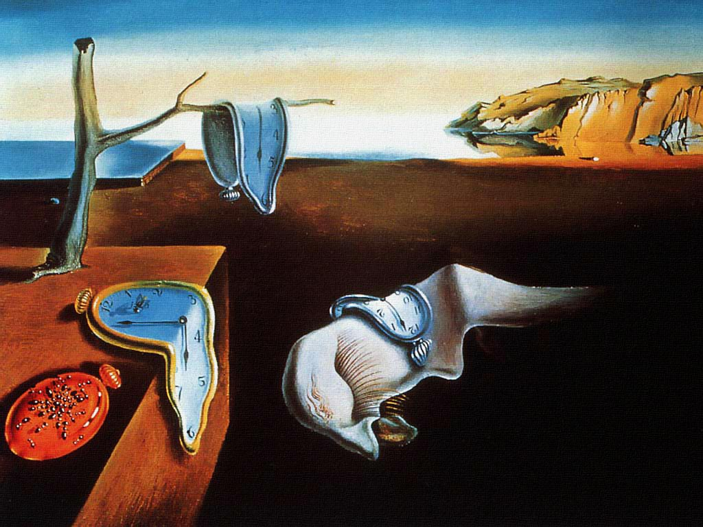 The Persistence of Memory Painting by Dali