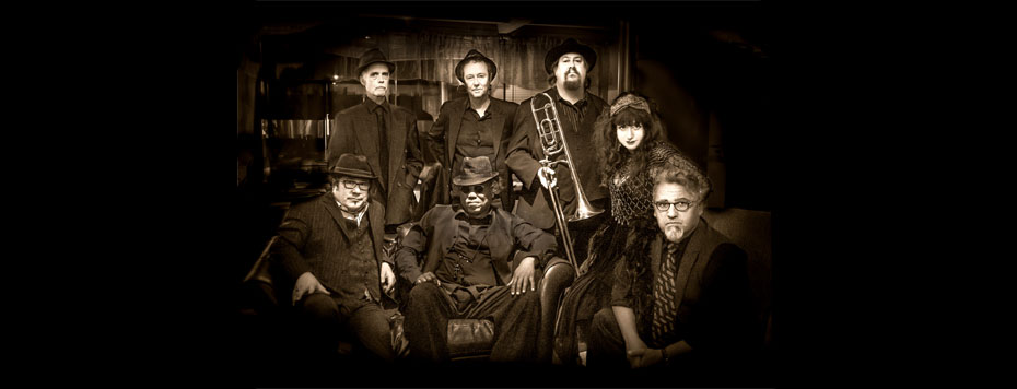 Roberta Donnay and her Prohibition Mob Band