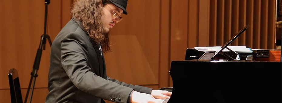 """MUSIC   Award-winning jazz pianist, composer and accordionist Ben Rosenblum has been described as """"mature beyond his years,"""" and as an """"impressive talent""""."""