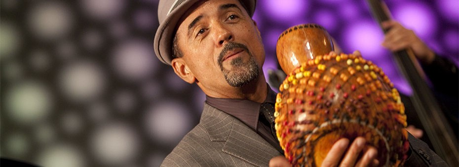 MUSIC | Master percussionist and San Francisco native, John Santos, presents his revolving project Unusual Standards including unforgettable, outside the box, soulful, funky Afro-Caribbean tinged jazz standards and original compositions.