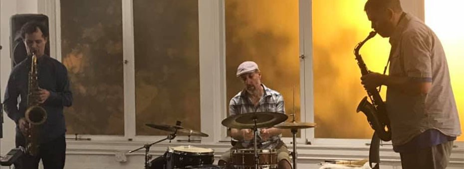 MUSIC | Free Sax is an improvisational jazz trio comprised of alto and tenor saxophone and drum set.