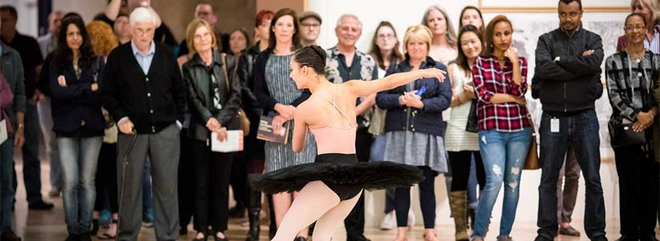 MULTIMEDIA | Join us for the opening of Sonya Rapoport: biorhythm with a recreation of the artist's 1983 performance and preview New Ballet