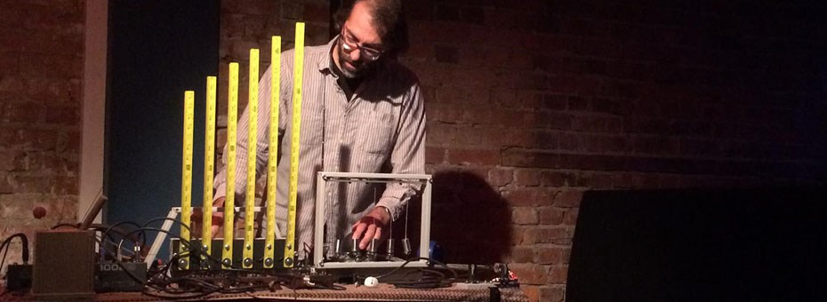 MUSIC | Sound Wheels - It is incredibly exciting to have instrument inventor, improviser and installation artist Bryan Day at the program this week!