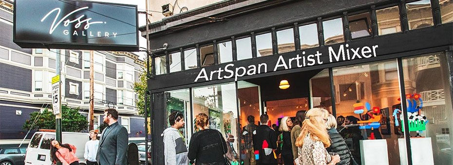 VISUAL | Make friends and take a virtual tour of Voss Gallery via ZOOM! Re-connect with your art community and take part in an ArtSpan Happy Hour.