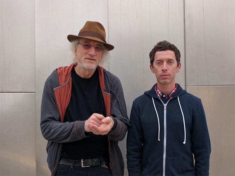Larry Ochs and Aram Shelton
