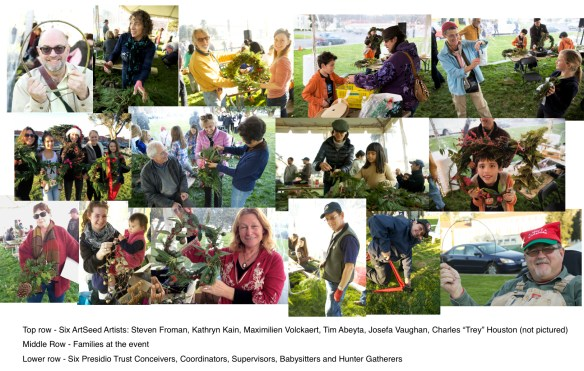 Wreath Making Photo Composite