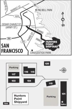 Hunters Point Shipyard Map