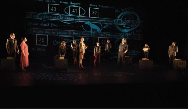 L'incroyable Le bizarre incident du chien pendant la nuit dans une mise en scène d'Hugo Bélanger au Théâtre Duceppe