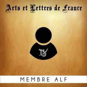 Adhésion membre Arts et Lettres de France