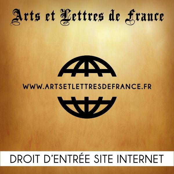 Droit d'entrée site internet Arts et Lettres de France