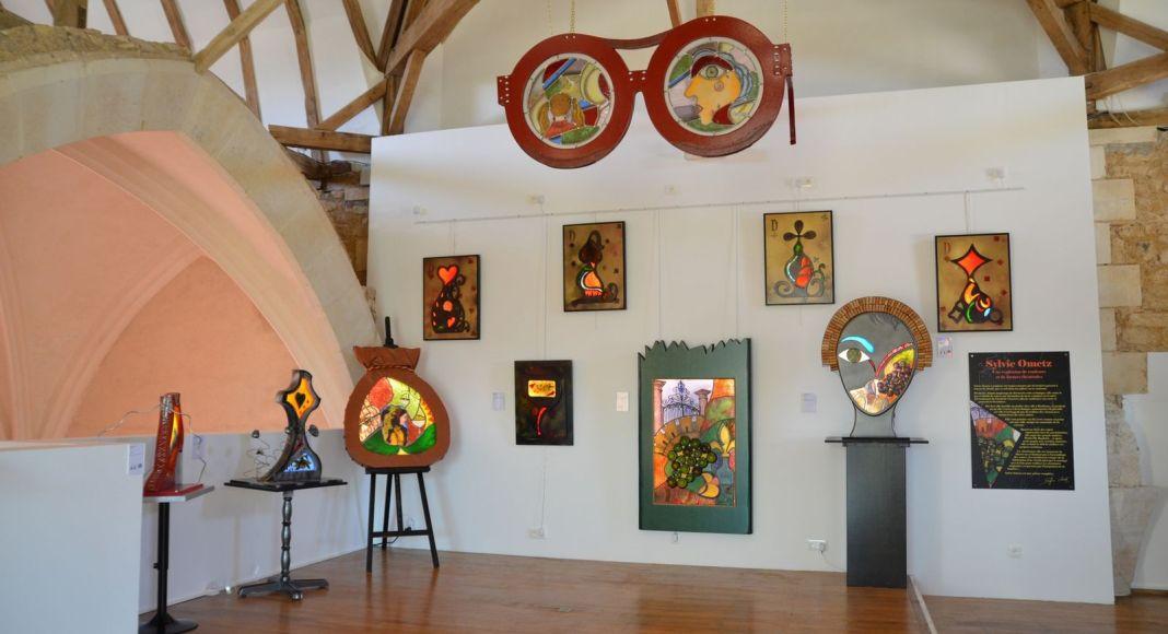 Sylvie OMETZ au Musée de CURZAY