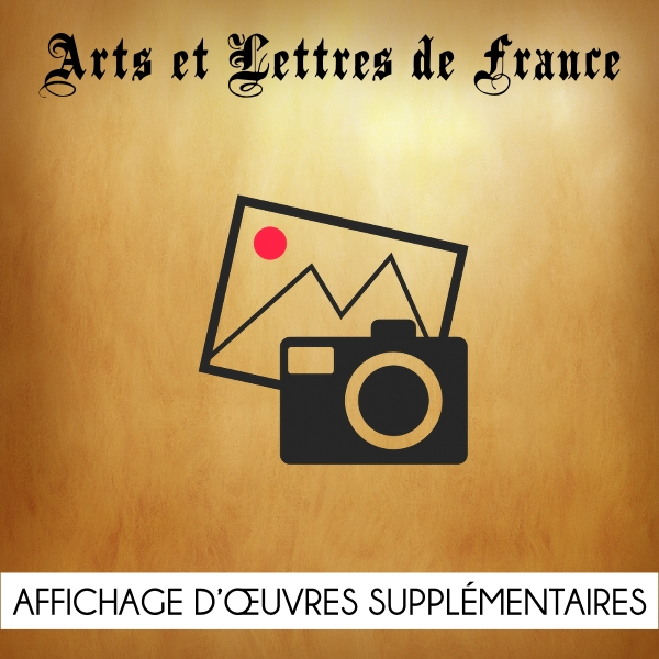 Affichage oeuvres supplémentaires Arts et Lettres de France