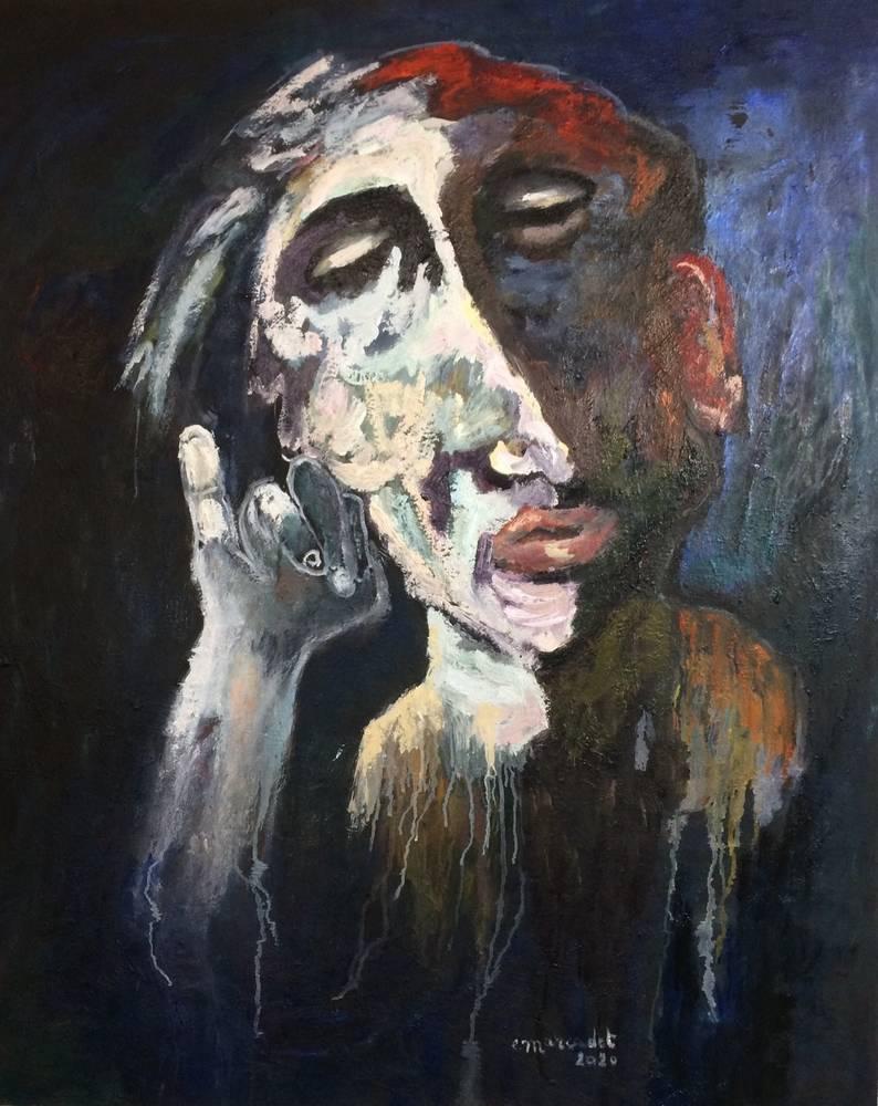 Auguste le doigt levé - Elisabeth Marcadet