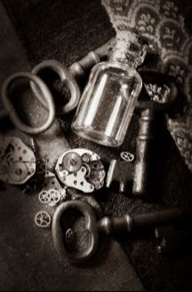 Gears, Keys, and Glass