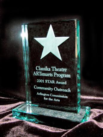 Arlington Commission for the Arts award