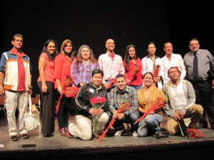 "Participants and performers from ""Beyond the Diagnosis"""