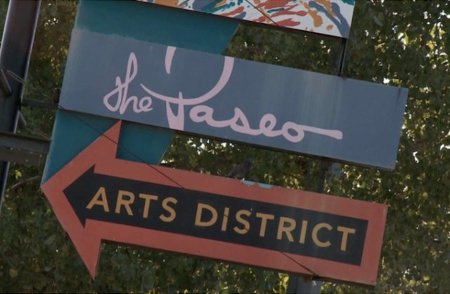 Oklahoma City is home to the Paseo arts district.