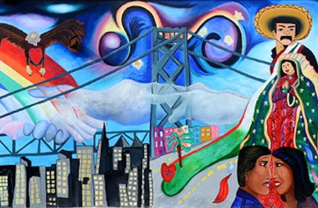 Image: SF Mural Arts, Unity Among Diversity.