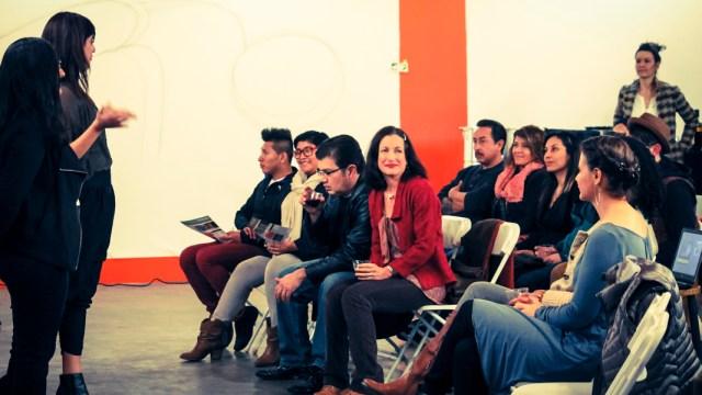 Casandra Hernandez and Gabriela Muñoz present at the inagural NALAC Pod gathering in Phoenix, AZ