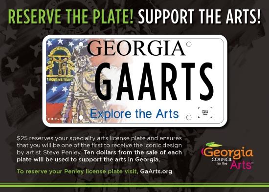 Arts License Plate e-Flyer Feb 2014