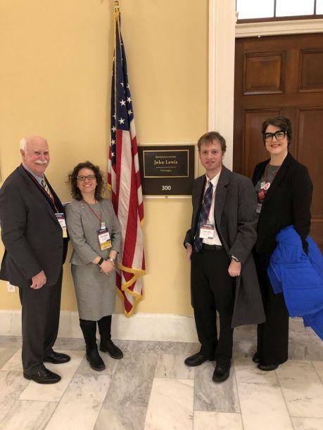 Georgia arts advocates in DC