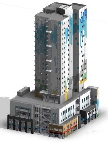 2nd rendering of project