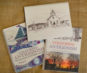 Antigonish Colouring Books Volume I & Volume II