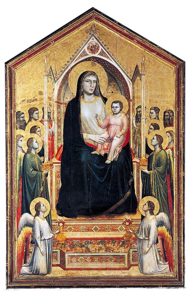 Ognissanti Madonna, (c. 1310)
