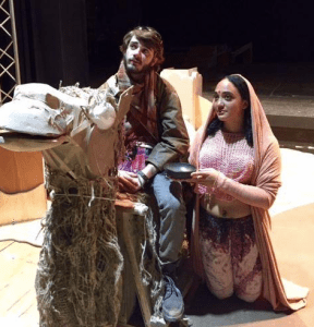 Rehearsal for Jesus in India at Clarion University