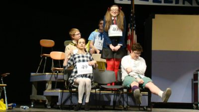 """The 25th Annual Putnam County Spelling Bee"" at Putnam High School"