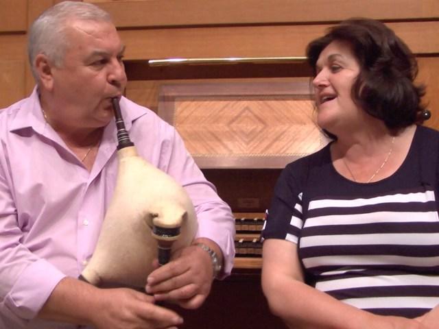 Ivan and Zvetanka Varimezov show us the goatskin bagpipes and Bulgarian folk singing in an original video from MITA's new chapter on Bulgarian folk music.