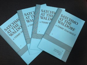 SATCHMO FINISHED COPIES